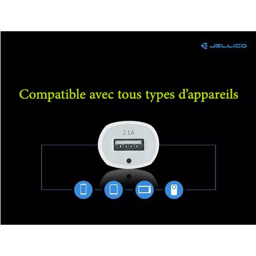 Chargeur 1 USB - AC-21 - 2.1A