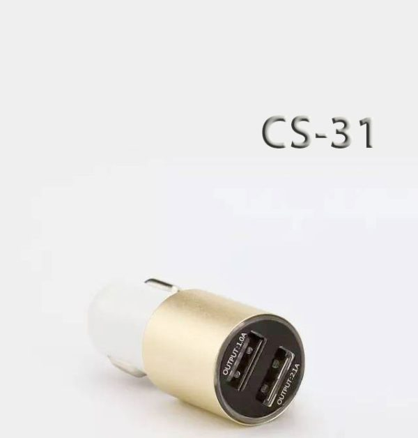 Chargeur voiture CS-31 Or