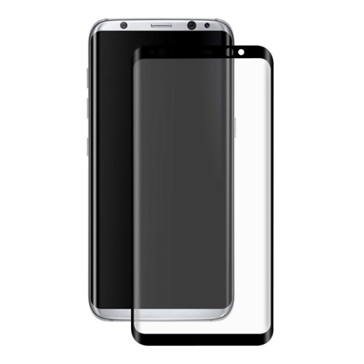 Samsung Galaxy S8 Plus Film de protection en verre trempé incurvé 2.5D